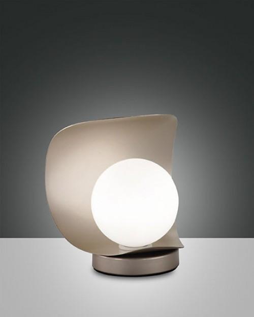 Lampe à poser LED Adria doré mat