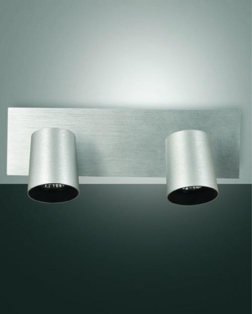 Réglette spots Modo 2xGU10 aluminium
