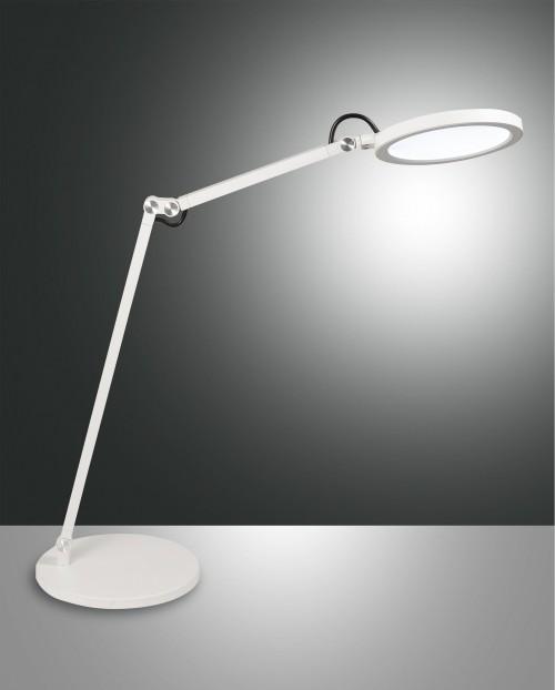 Lampe de bureau Regina blanche