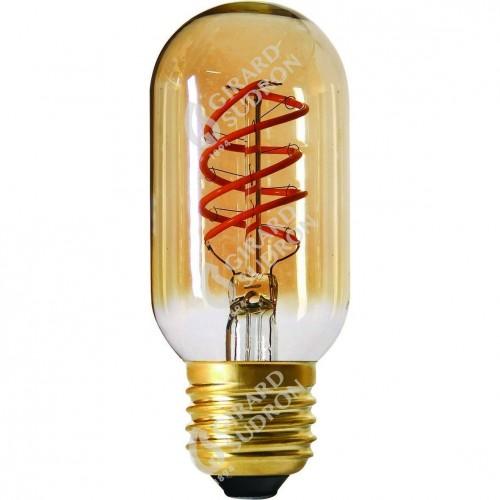 Ampoule Led Tube Twisted 4W 200lm ambre