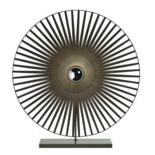 Lampe à poser Tazena - Noir - D. 70