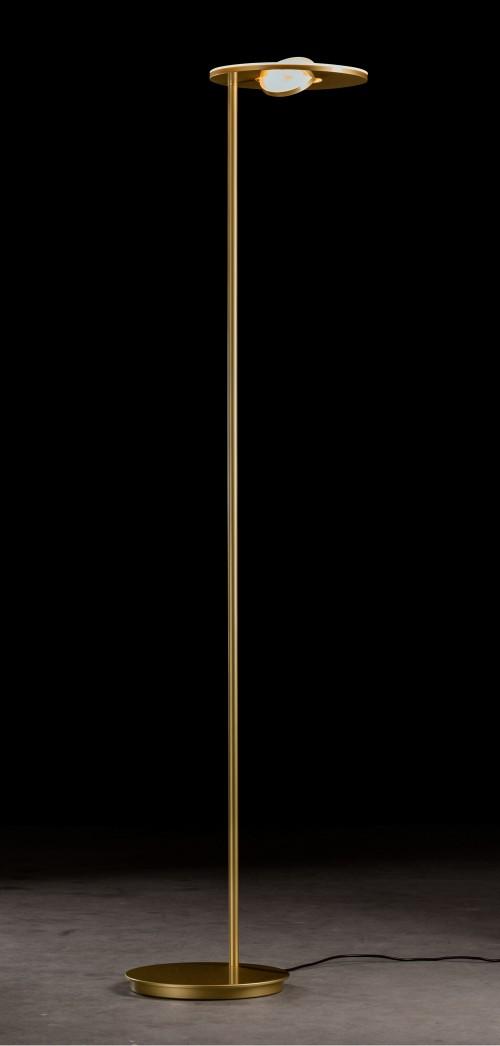 Lampadaire LED Nova Oog 48W laiton