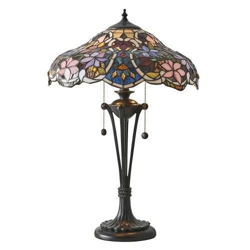 Lampe à poser Tiffany Sullivan H.64
