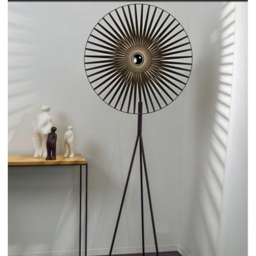 Lampadaire César - Noir - H.195 cm