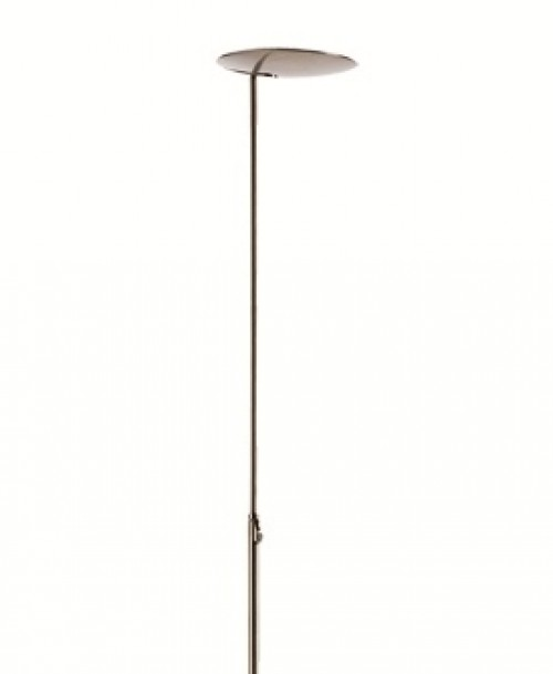 Lampadaire LED Sione 3000 lm nickel