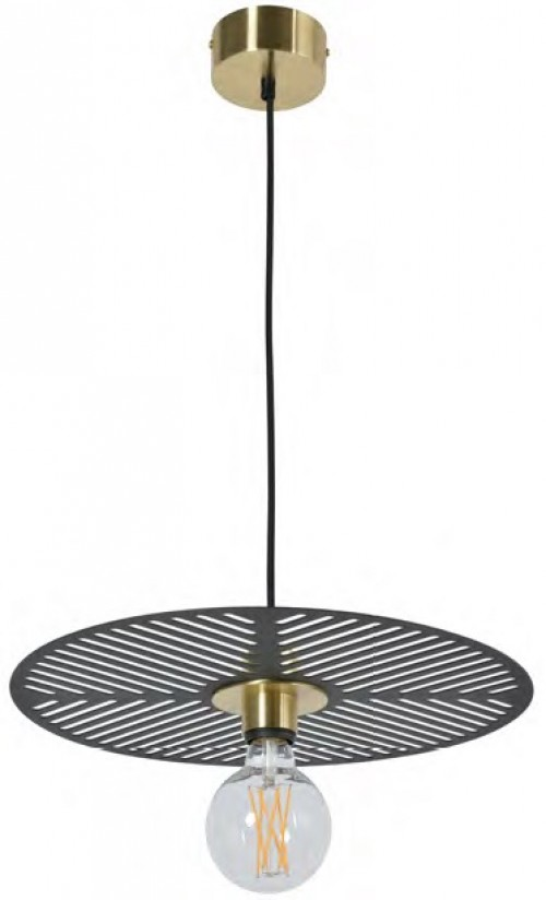 Suspension Waterlilly D.40 noir