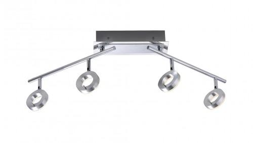Plafonnier spots LED Bagno IP44 4x6W
