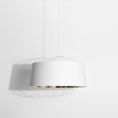 Lanterna D.75 suspension blanc & or