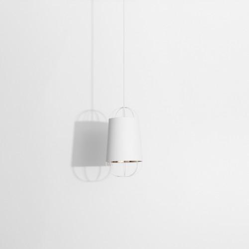 Lanterna D.22 suspension blanc & or