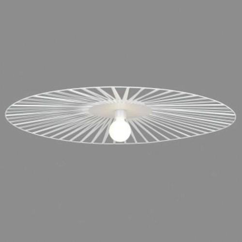 Plafonnier Lucie blanc D.100