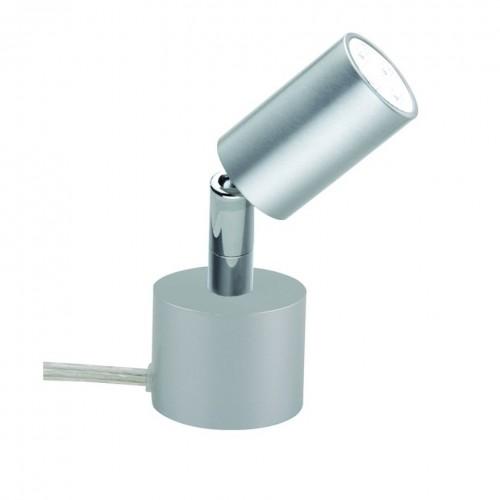 Spot à poser LED 410lm aluminium