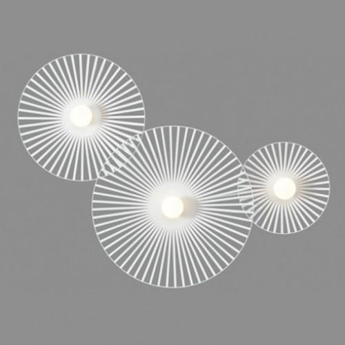 Applique Thelma Harpo - blanc - 3 lumières
