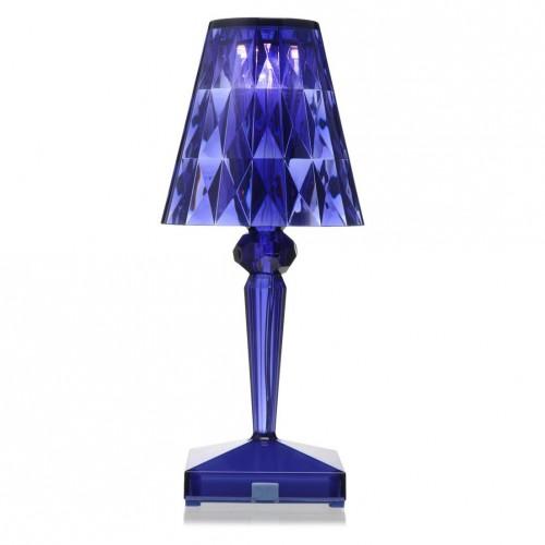 Battery Lampe Bleu - Kartell