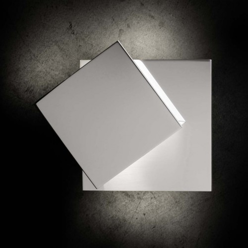 Applique LED Cubic 2x8W chrome