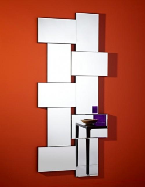 Miroir moderne Criss Cross