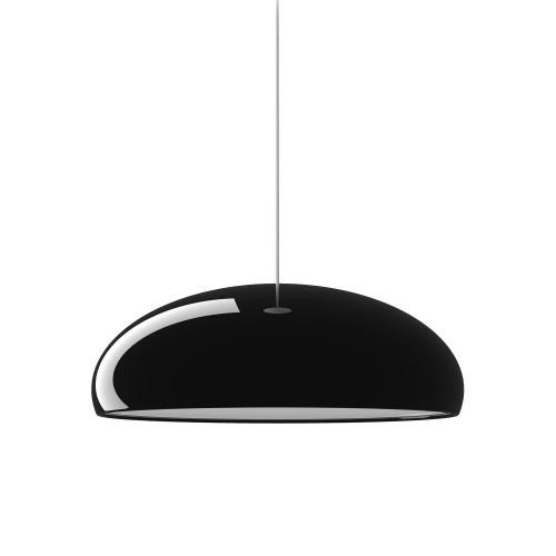 Pangen suspension laqué noir - Fontana Arte