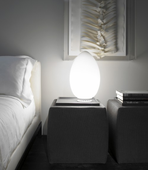 Uovo H.44 lampe à poser - Fontana Arte