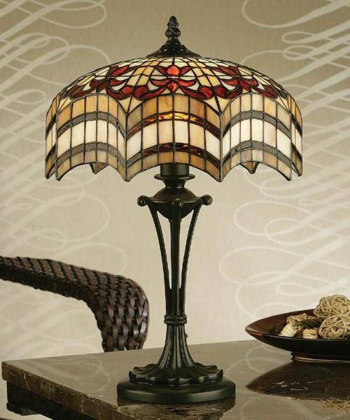 Lampe Tiffany Vesta H.45