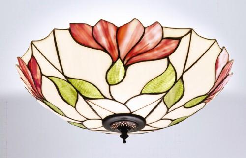 Plafonnier Tiffany Botanica