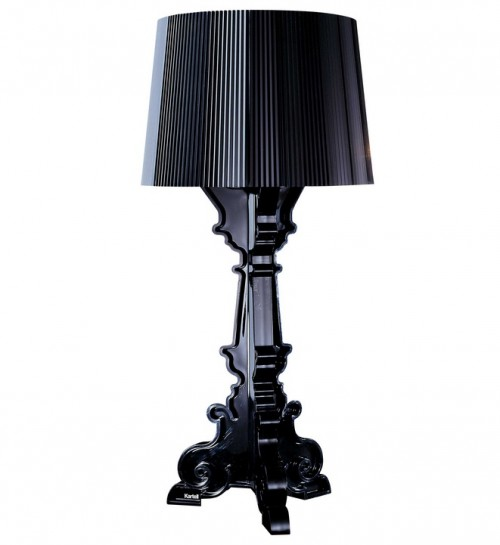Bourgie Lampe noire - Kartell