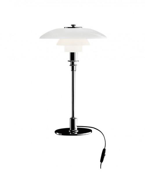PH 3/2 lampe à poser chromée - Louis Poulsen