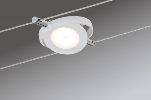 Kit spots sur câble Roundmac LED 6x4W