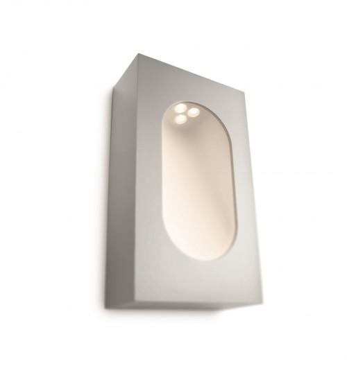 Applique d'extérieur Ledino bloc gris - Philips