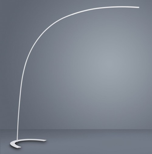 Lampadaire Arc Led blanc