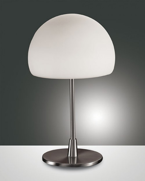 Lampe Gaia Big nickel mat