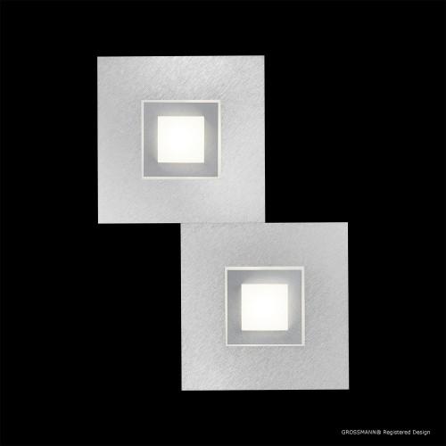 Applique / Plafonnier KARREE 2 x LED Nacré - Titan