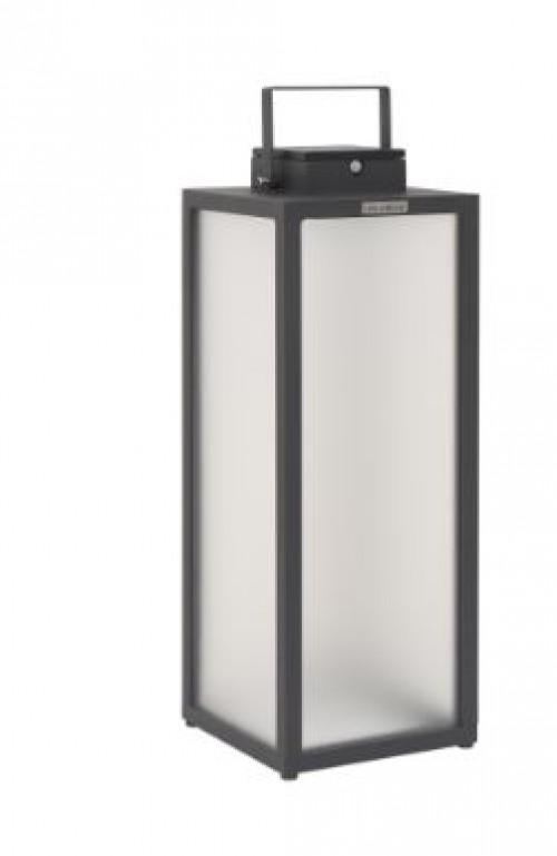Lanterne d'extérieur Tradition 300 lm - Solaire et rechargeable - H.65 Aluminium