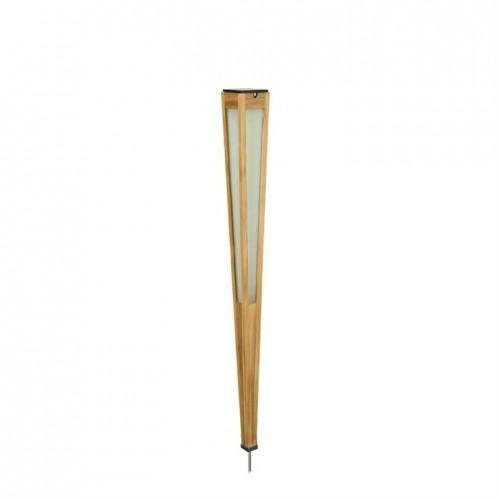 Torche solaire et rechargeable Tecka H.120 500 lm - Bois clair