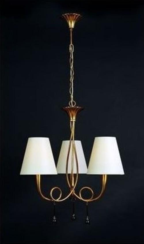 Lustre Paola bronze 3x40W