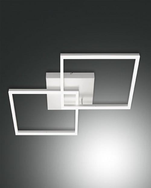 Plafonnier Led Fabas Luce Bard - L.65 Blanc