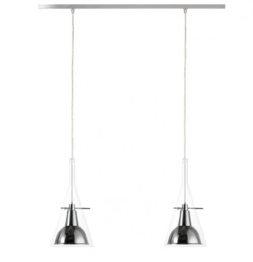 Suspension LED Flûte - 2 lumières - Fontana Arte