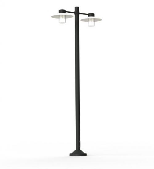 Lampadaire extérieur Aubanne 2x23W