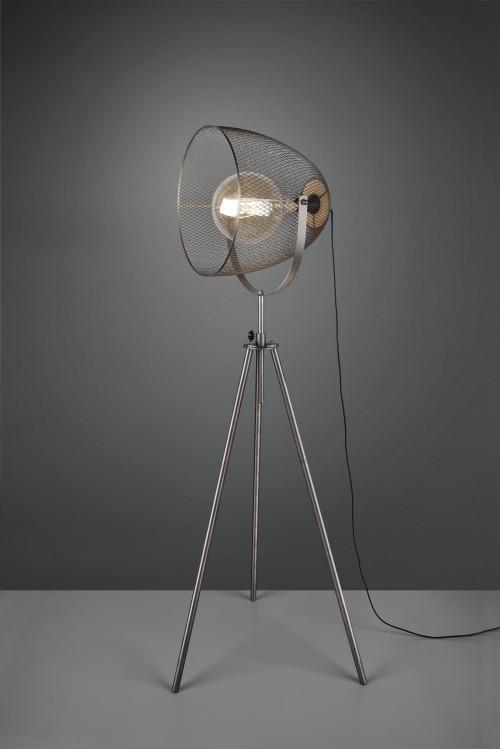 Lampadaire projecteur industriel Ivar