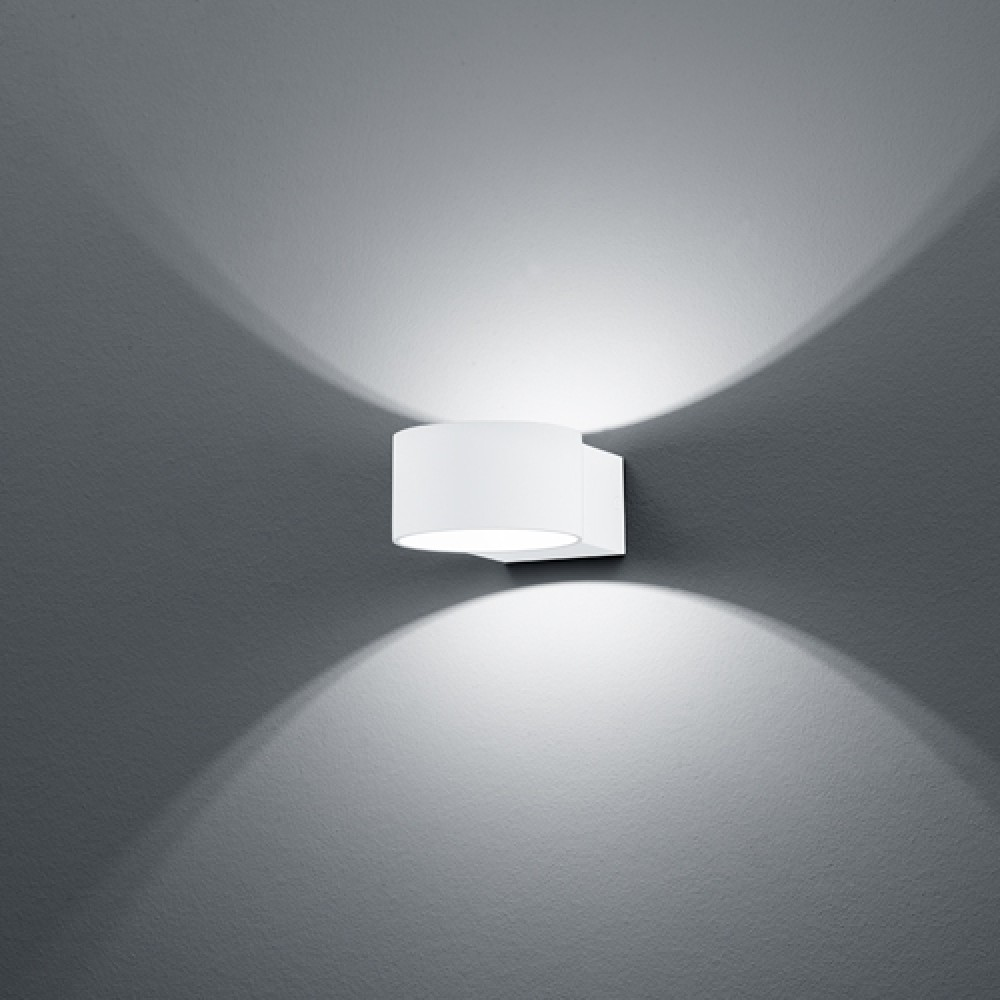Applique LED Lacapo Blanche