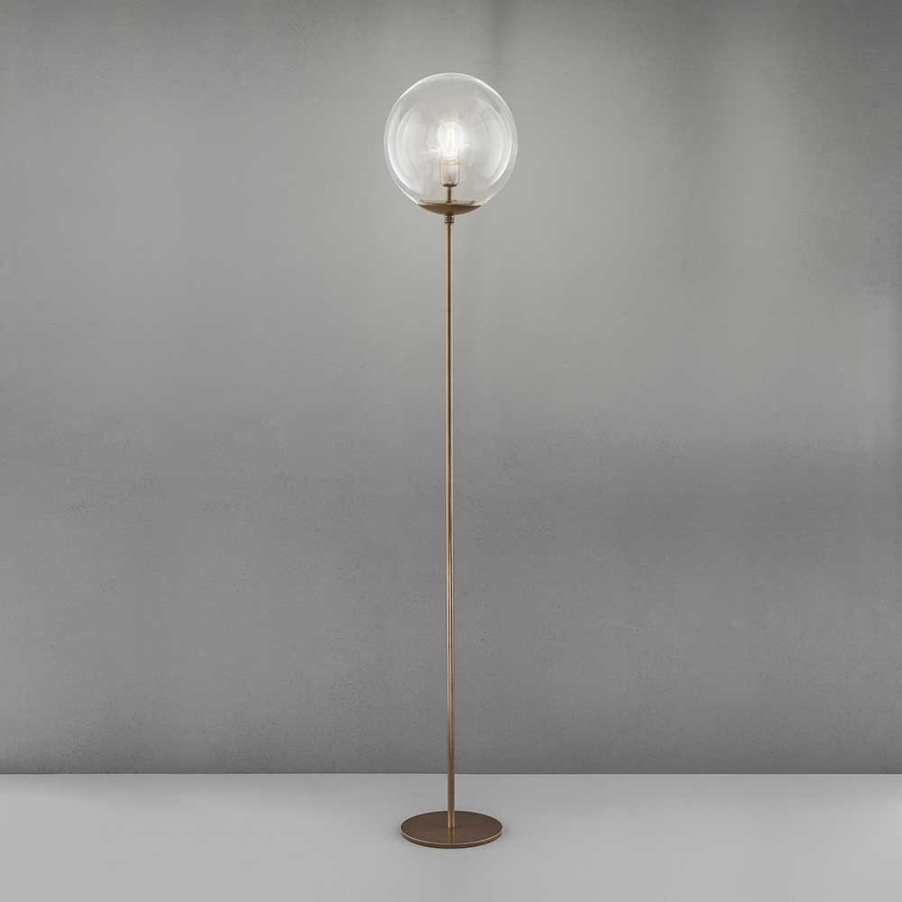 Lampadaire Global bronze