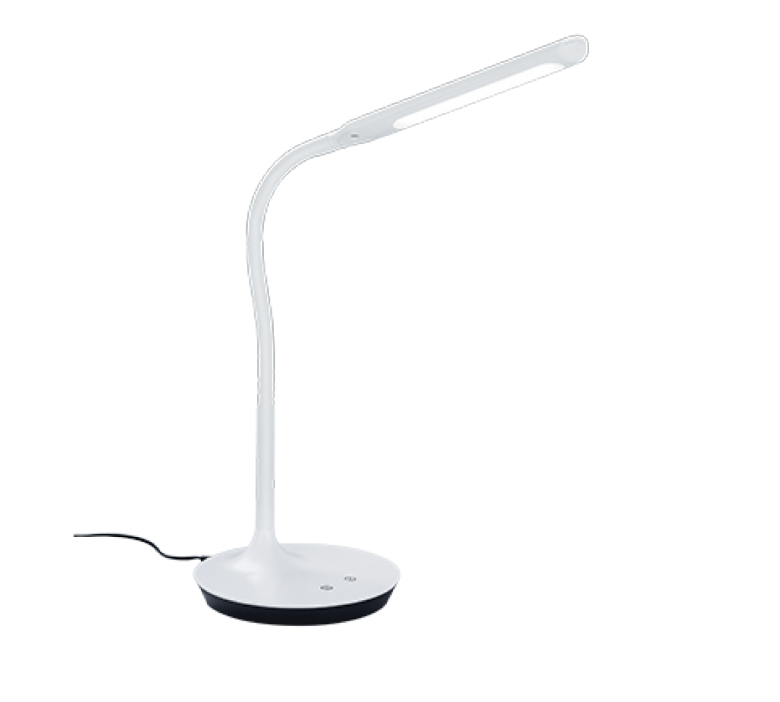 Lampe de bureau Led Polo blanche