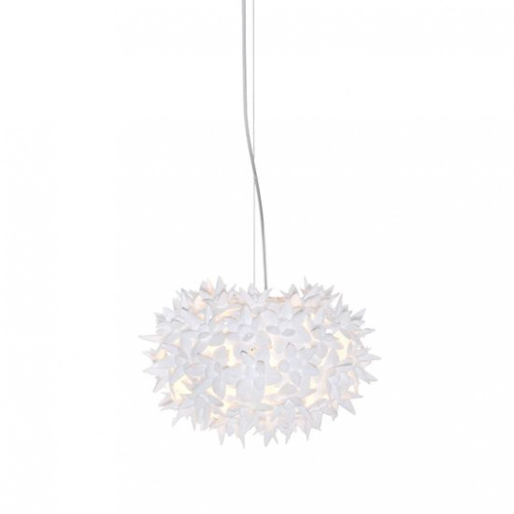 Bloom suspension blanche D.28 - Kartell