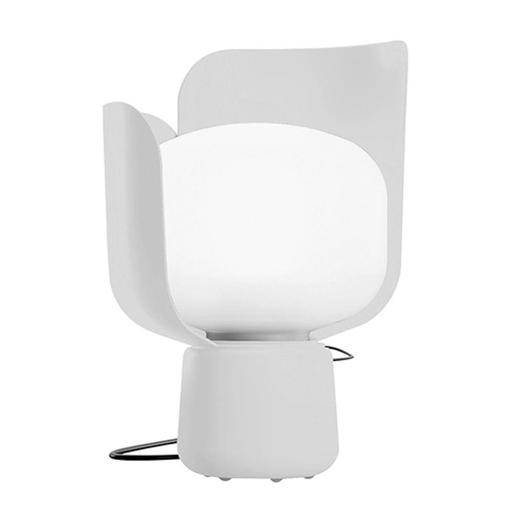 blom lampe poser blanche fontana arte d couvrez luminaires d 39 int rieur jeancel luminaires. Black Bedroom Furniture Sets. Home Design Ideas