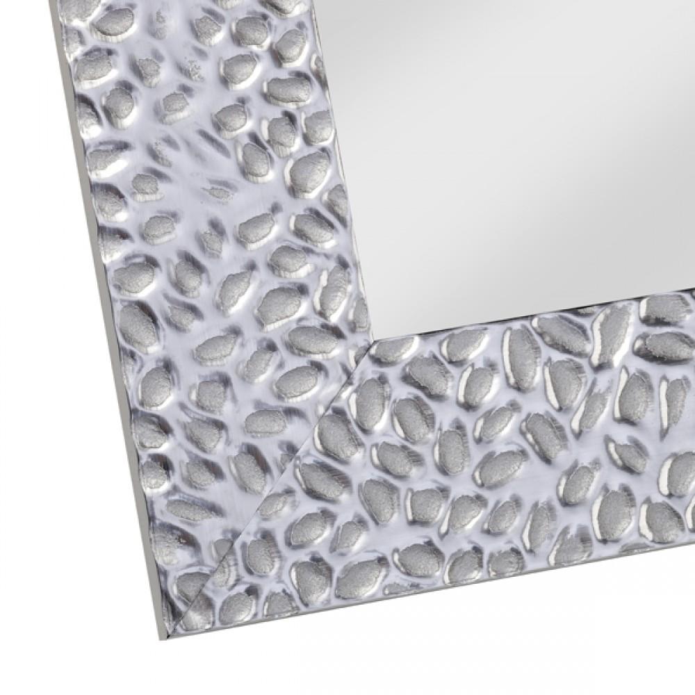 Miroir oslo argent 48x58 d couvrez mobiliers miroirs for Miroir 50 x 150