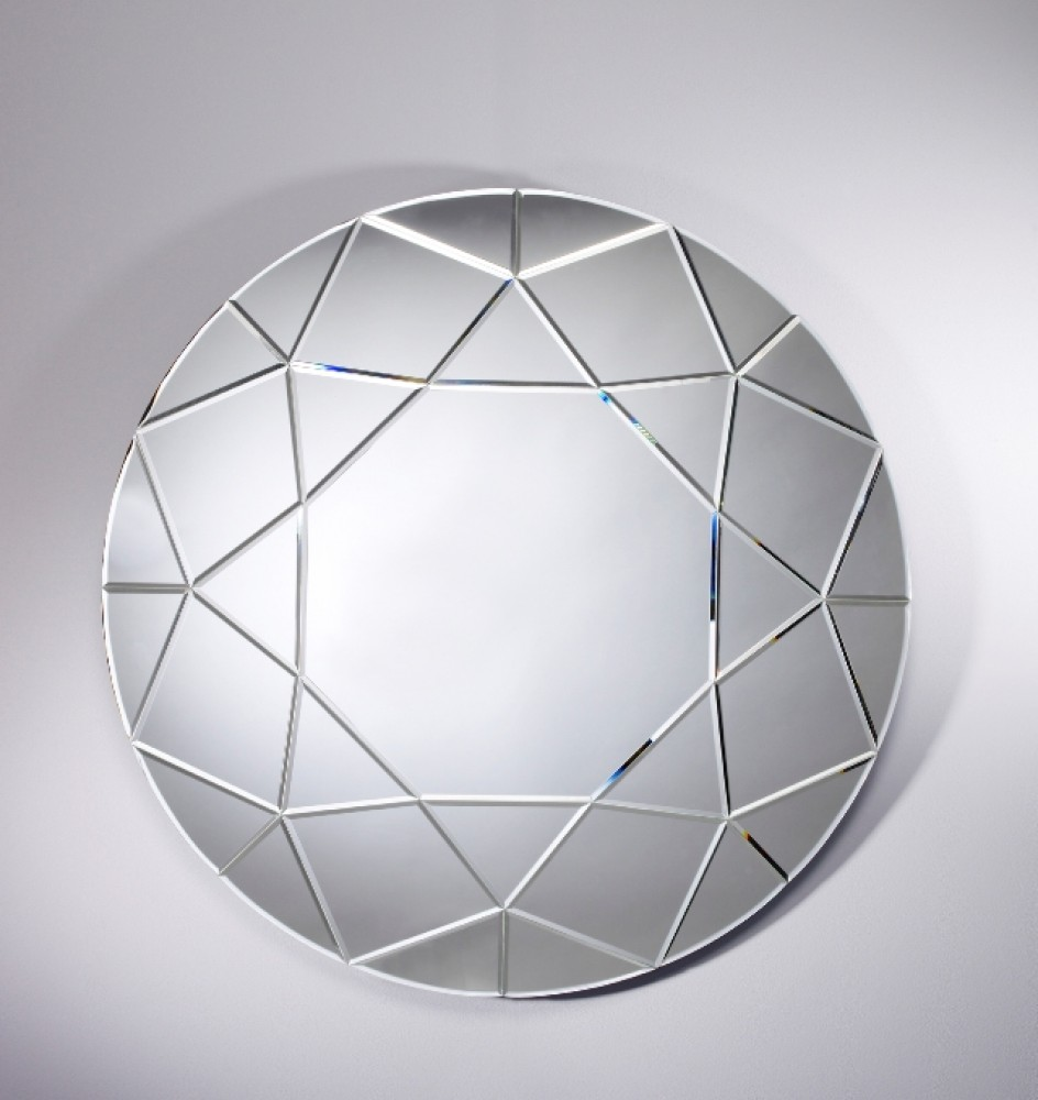 miroir rond biseaut 90x90 d couvrez mobiliers miroirs