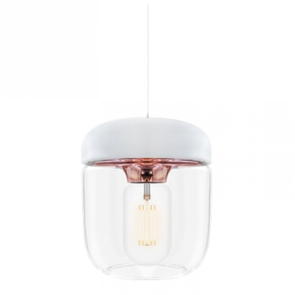 Suspension Acorn Blanc/Cuivre - Vita Copenhagen