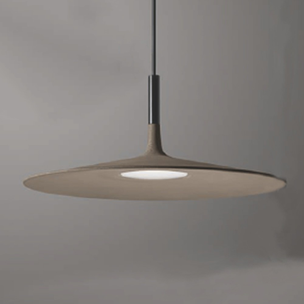 Aplomb Large suspension marron - Foscarini
