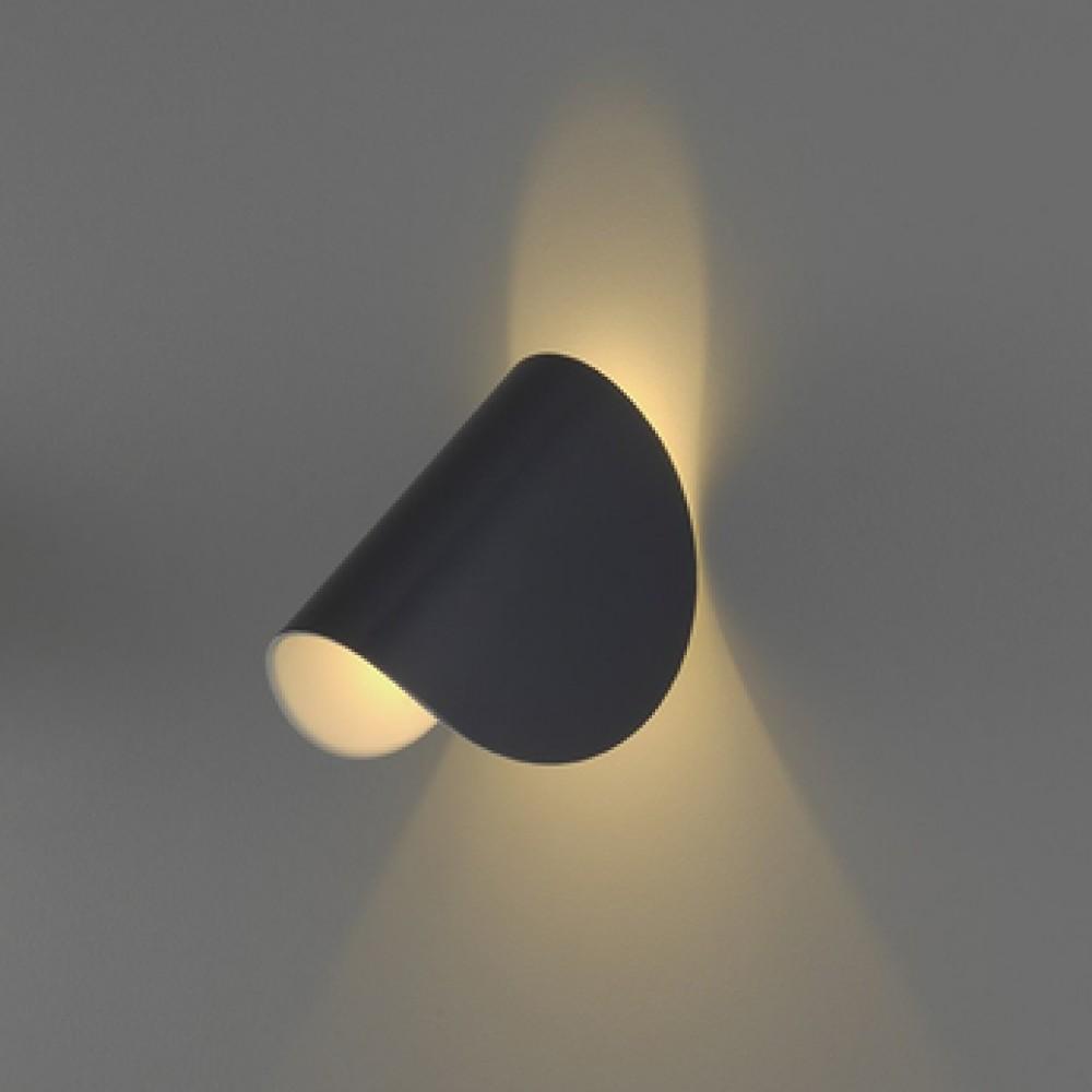 Applique IO LED Gris - Fontana Arte - Découvrez Luminaires d ...