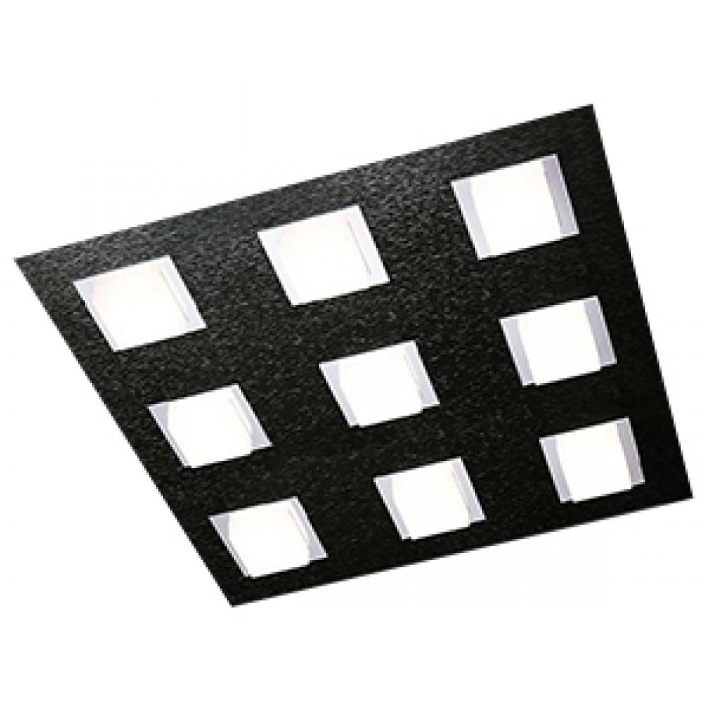 Plafonnier Led Basic 9x515lm Noir