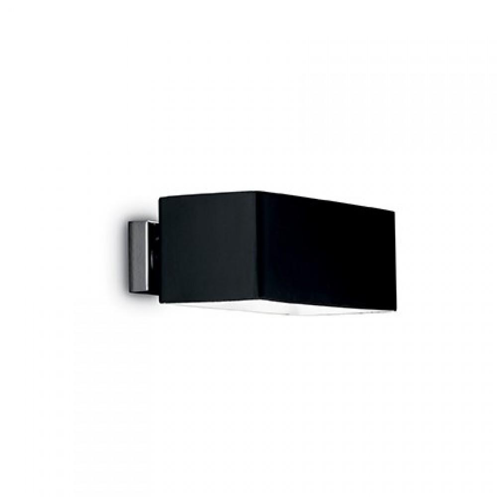 Applique en verre Box noir