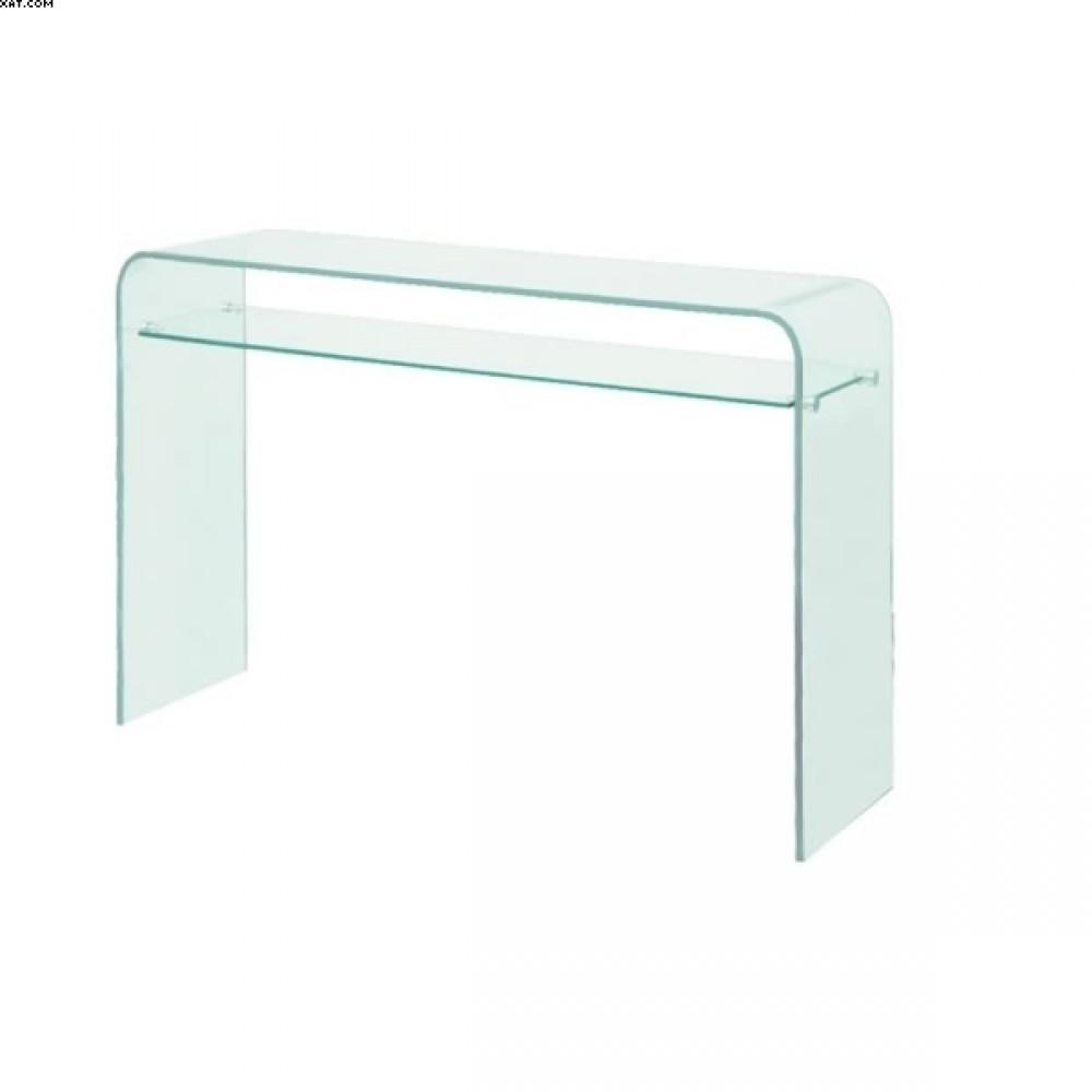 Console verre avec plateau H.78